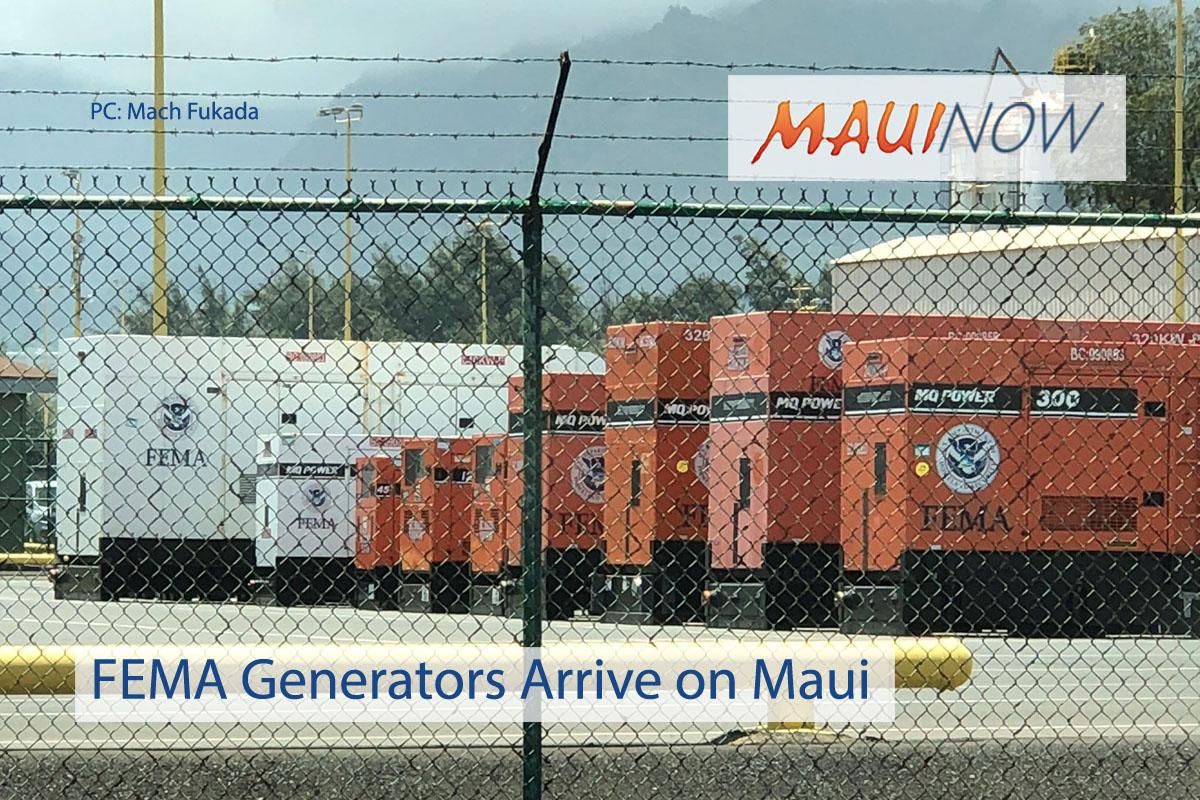 FEMA Lane Preparations Underway on Maui