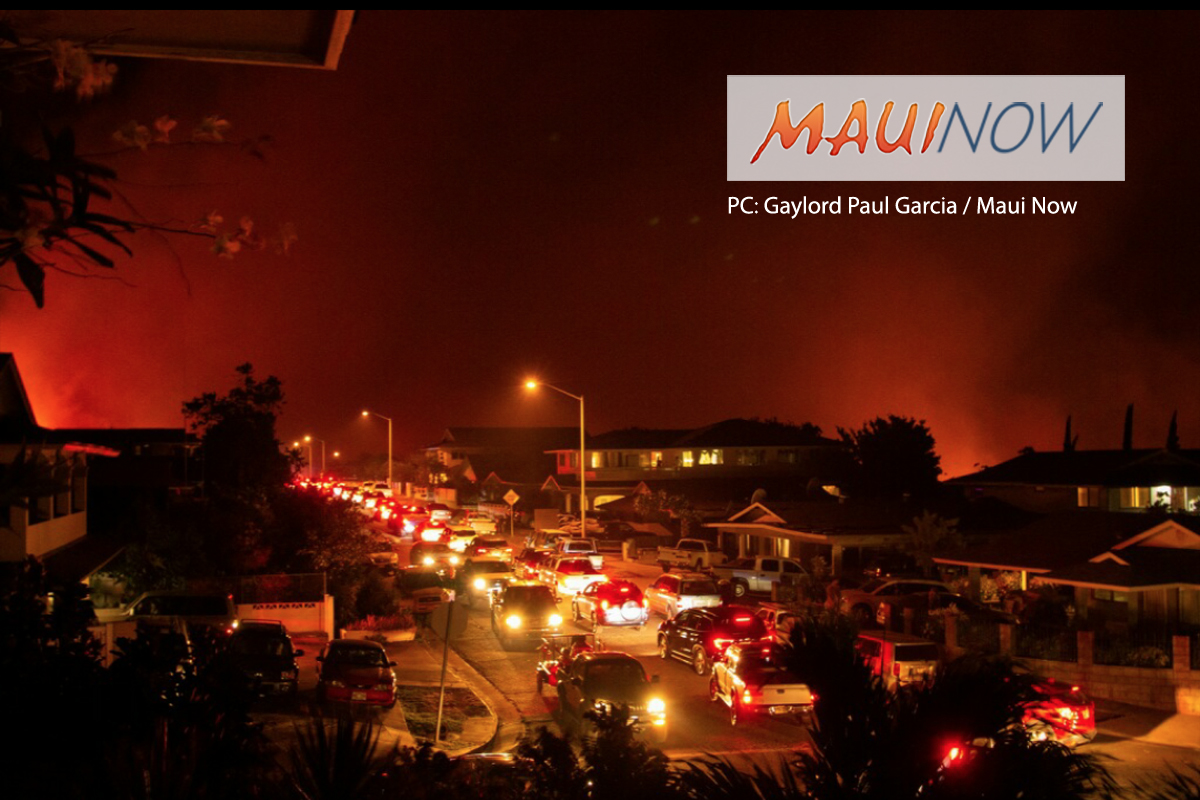 7 Homes Damaged or Destroyed in Lahaina Fire