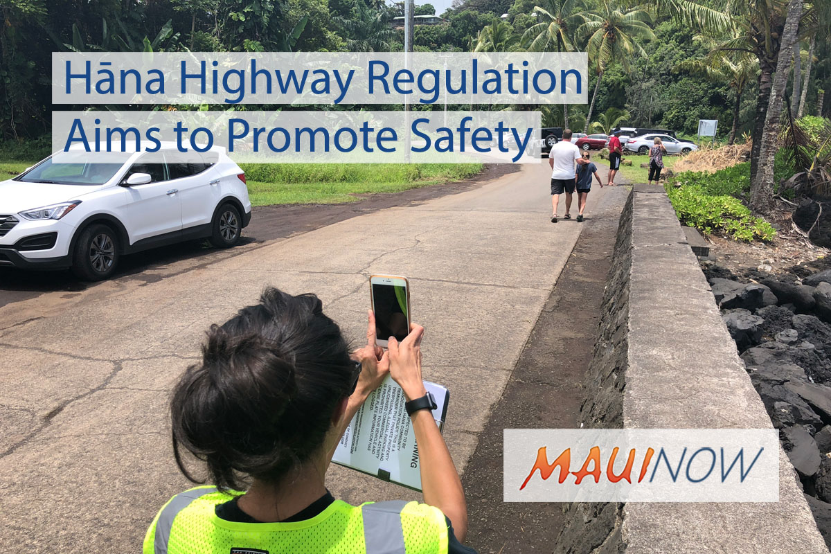 Hāna Highway Regulation Aims to Promote Safety