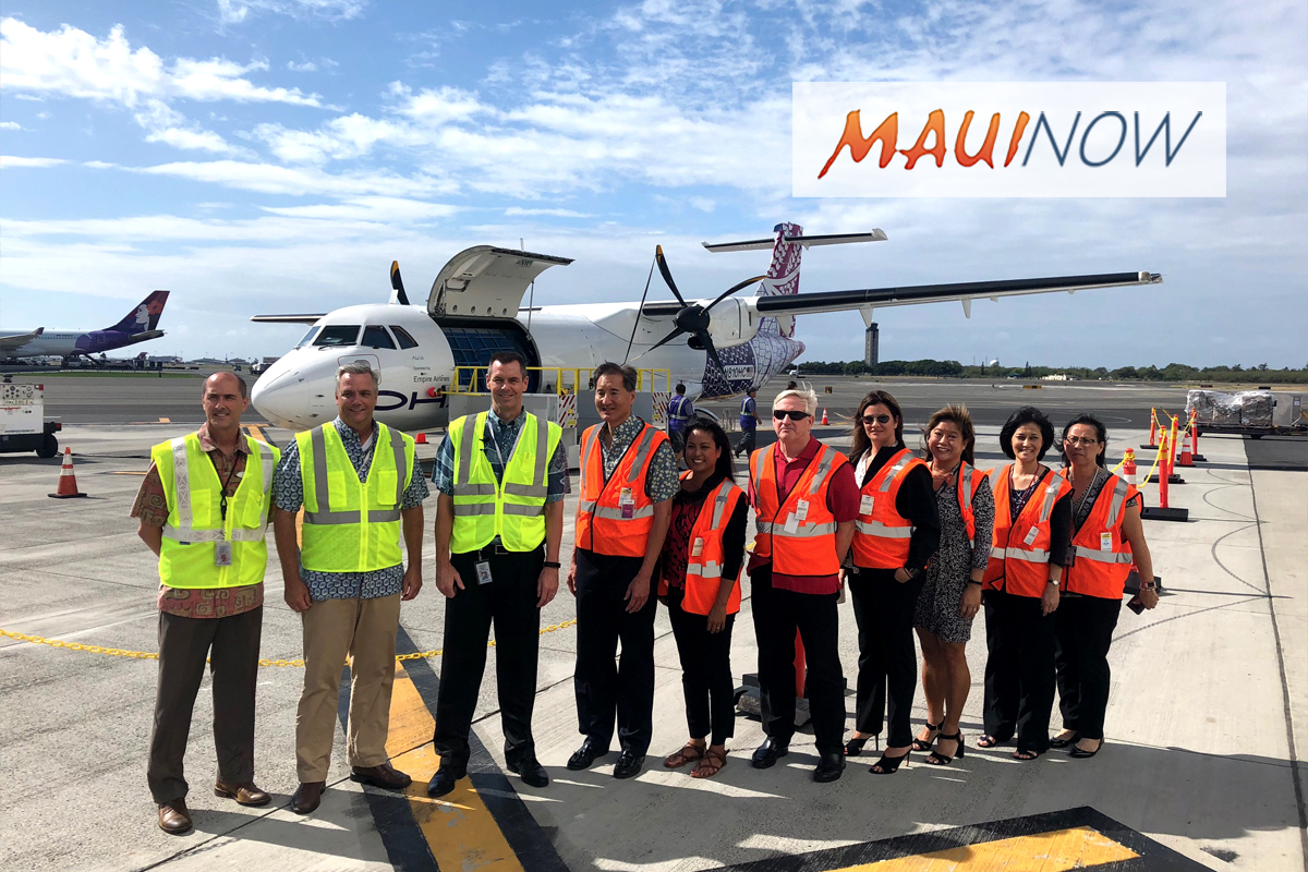 Hawaiian Airlines Launches All-Cargo Neighbor Island Service
