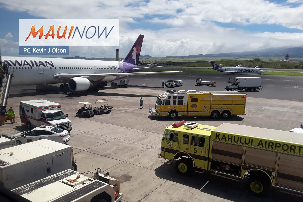Accidental Discharge of Pepper Spray on Hawaiian Airlines Flight to Maui