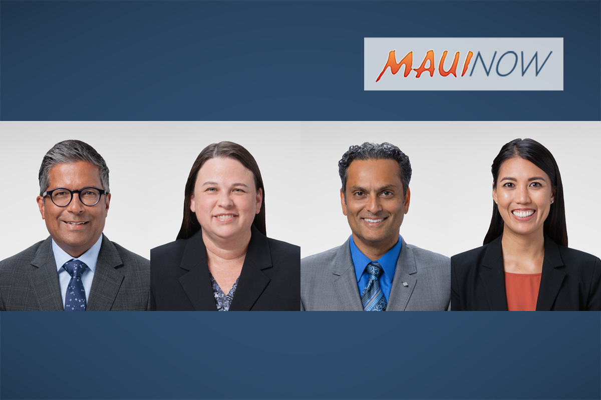 Four Physicians Added to Kaiser Permanente Team on Maui