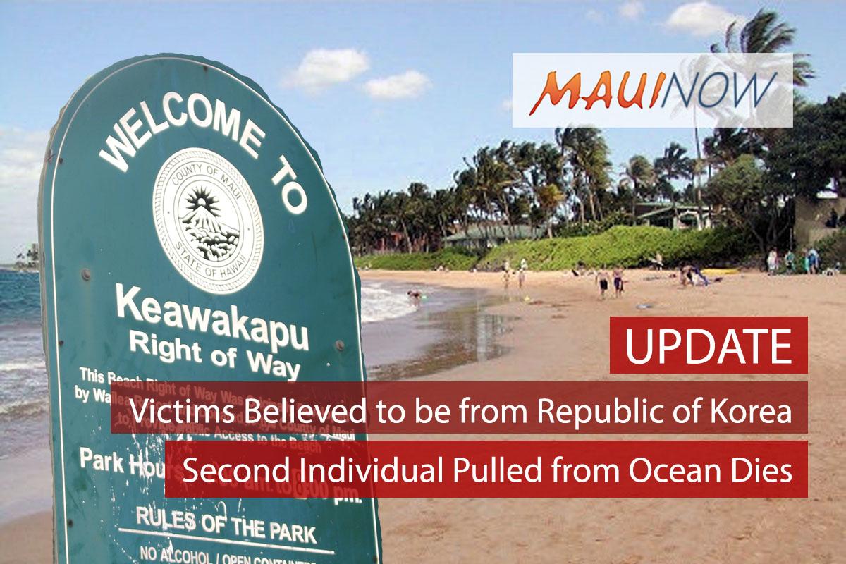 New Details: Second Individual in Keawakapu Incident Dies