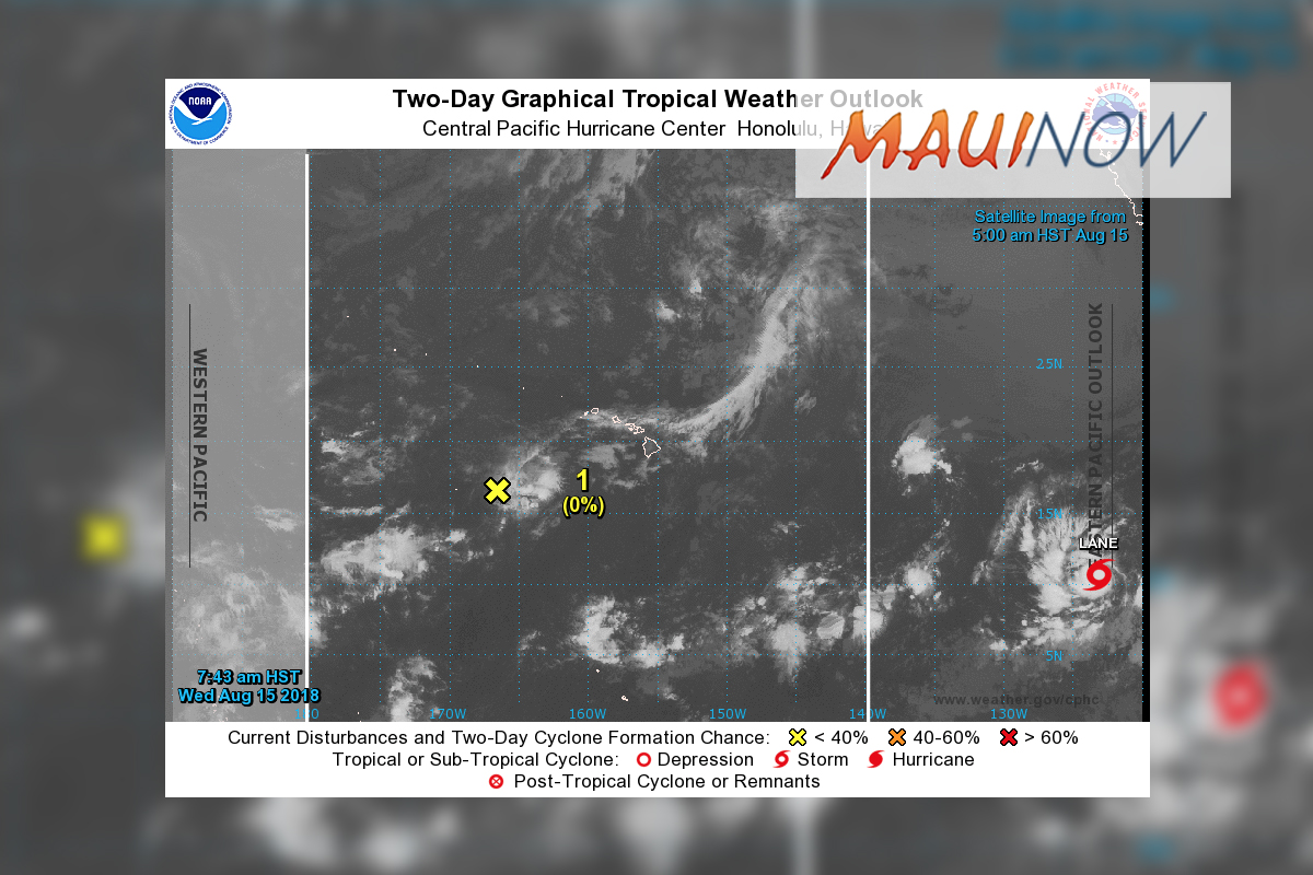 Tropical Storm Lane to Become Major Hurricane on Saturday