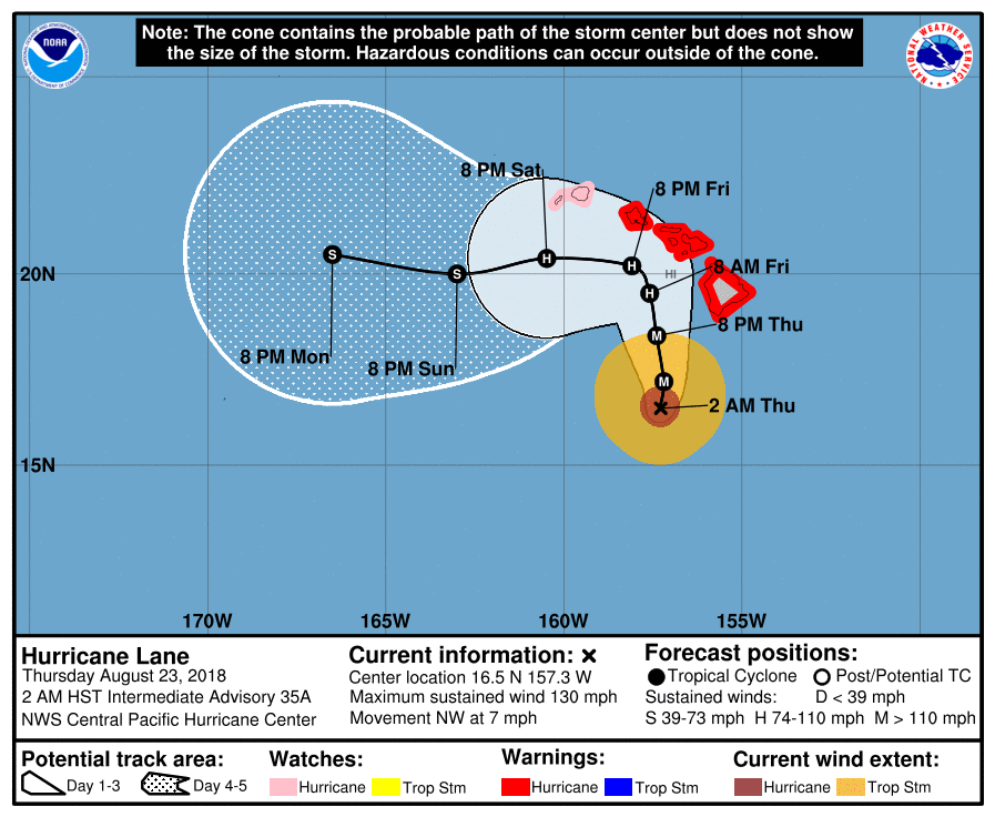 Motor Problems In Infancy May Forecast >> Maui Now Cat 4 Lane Pushes Onward Hurricane Warning For Maui