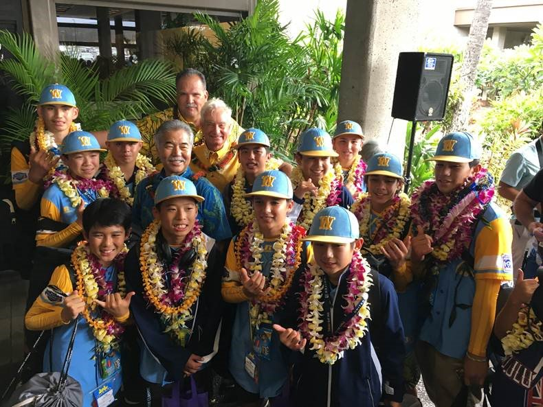 Hawaiʻi Congressional Delegation Honors Little League World Champions