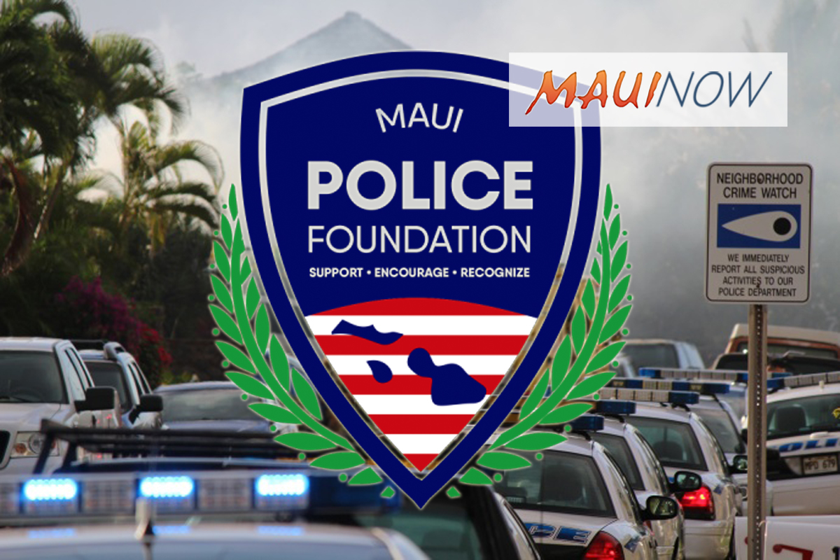 Maui Police Foundation Fundraiser, July 27