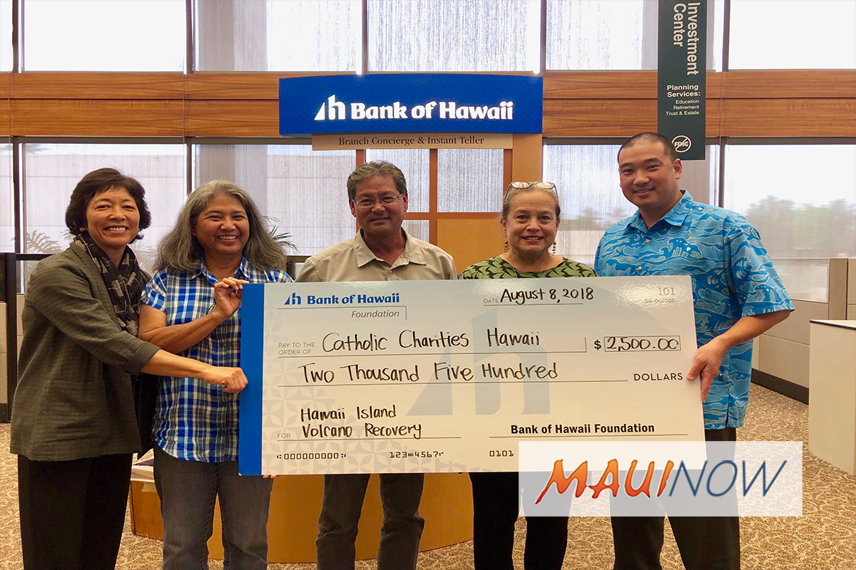 Catholic Charities Hawaiʻi Uses Donation Funds to Aid Disaster Victims