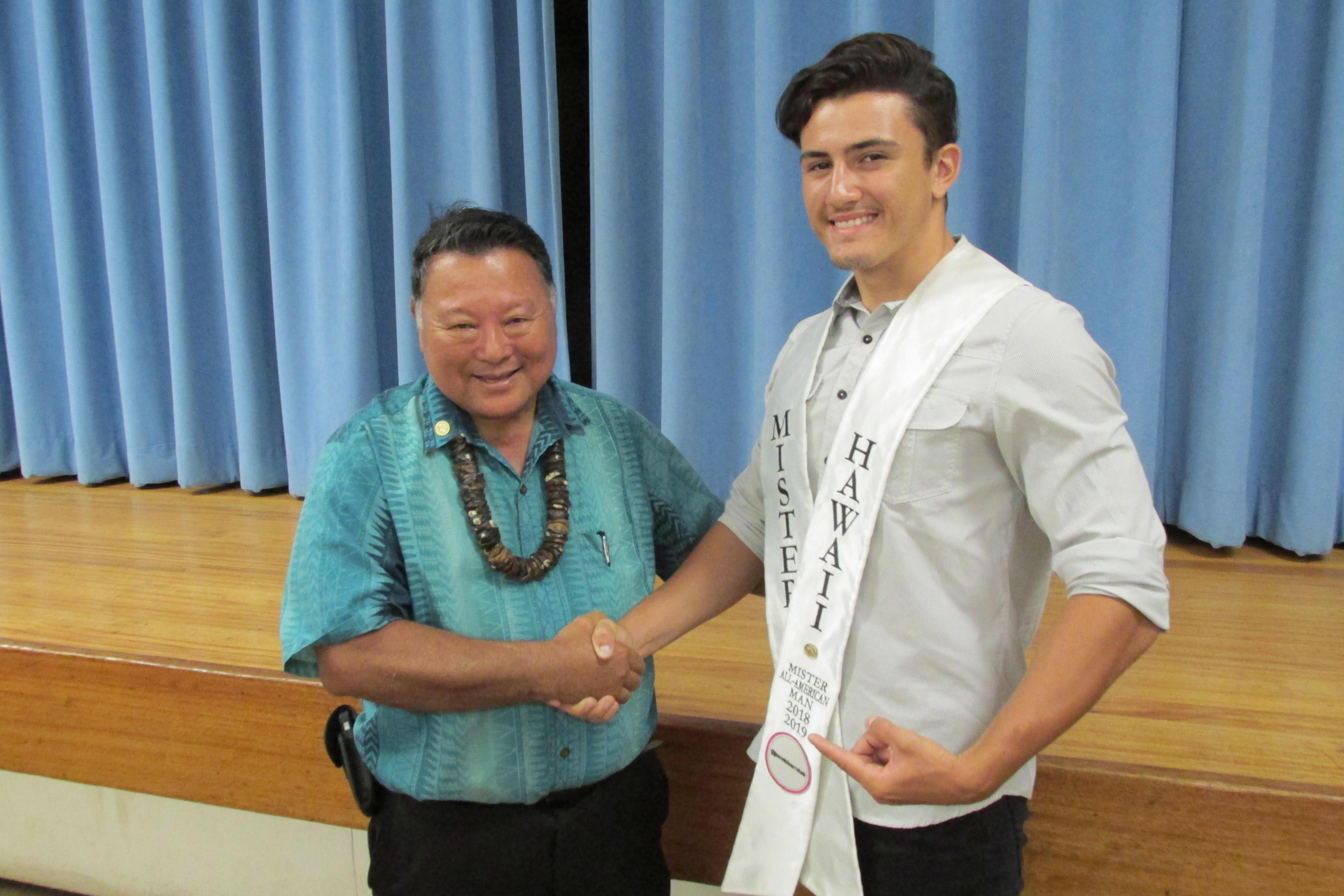 Maui's Caldwell Wins Mister Hawaiʻi All American Man 2018