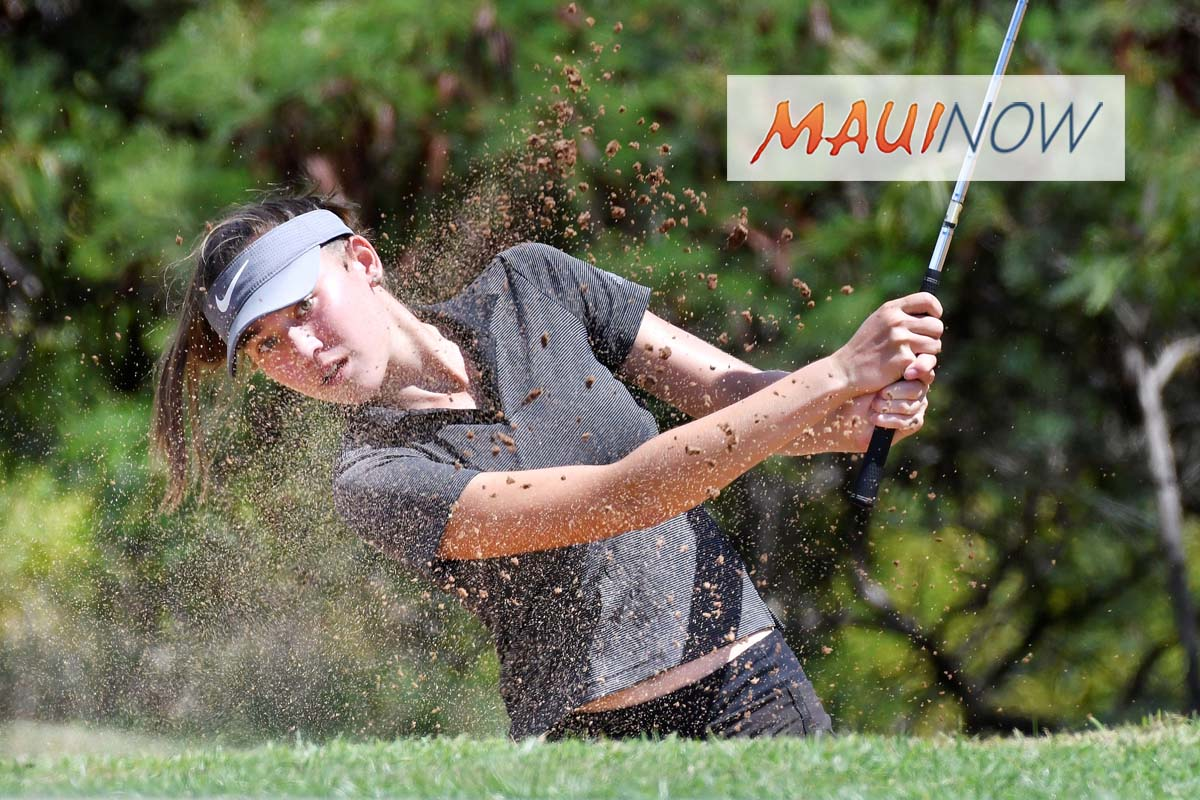 2018 Kāʻanapali Hawaiʻi Junior Golf: Final Results