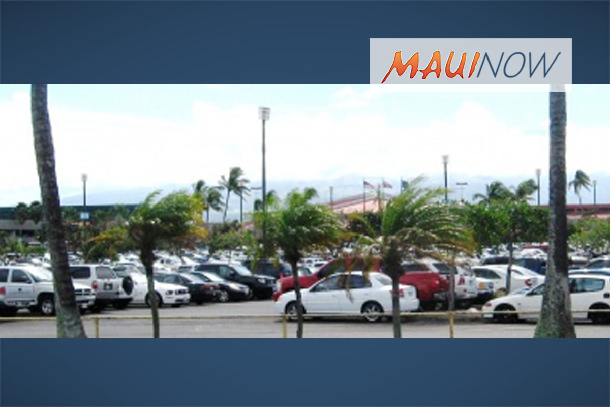 Construction Results in Limited Parking at Kahului Airport