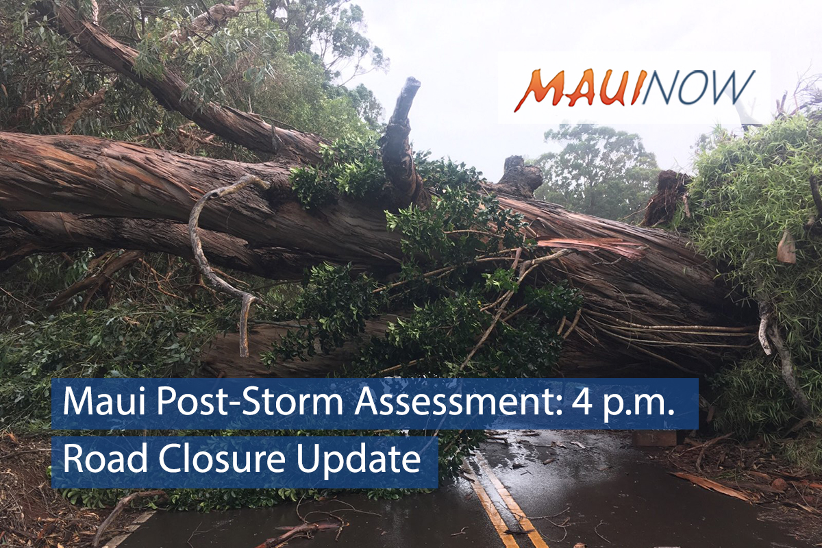 Maui Post-Storm Update: 4 p.m. 8.25.18