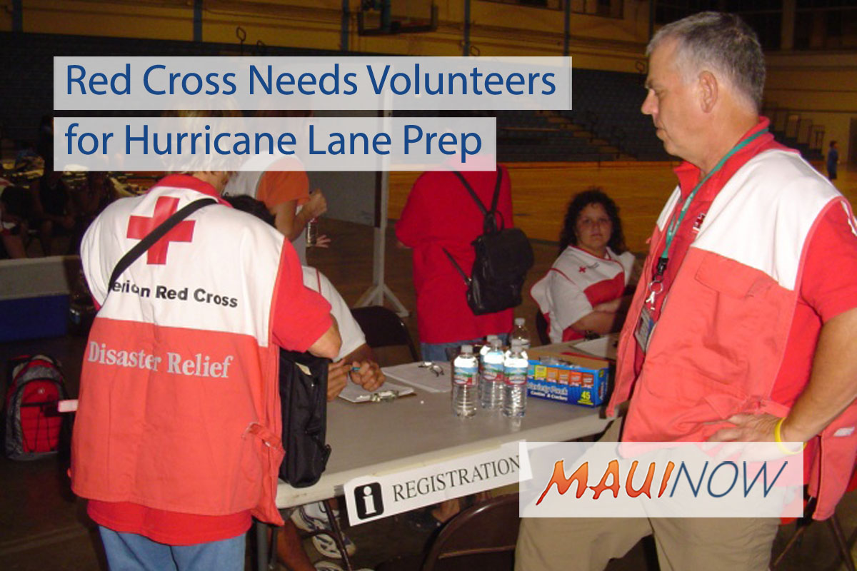 Red Cross Needs Volunteers for Hurricane Lane
