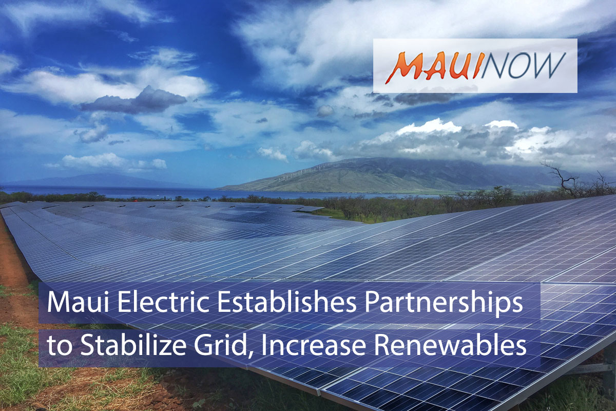 Maui Electric Establishes Local Partnerships to Stabilize Grid