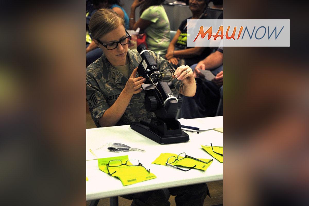 Eyeglass Pick Up for Maui Tropic Care 2018