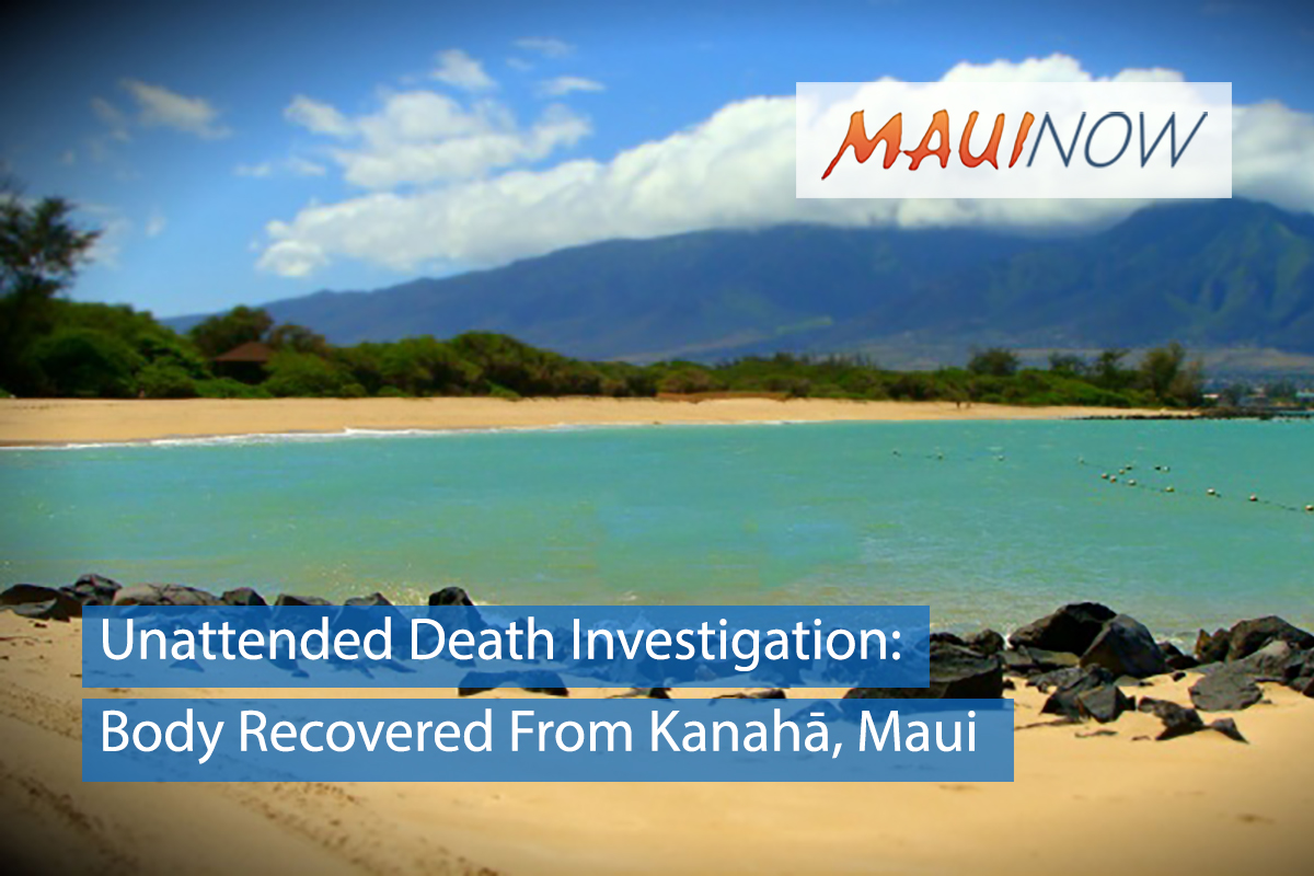 UPDATE: Body Recovered From Waters off Kanahā, Maui