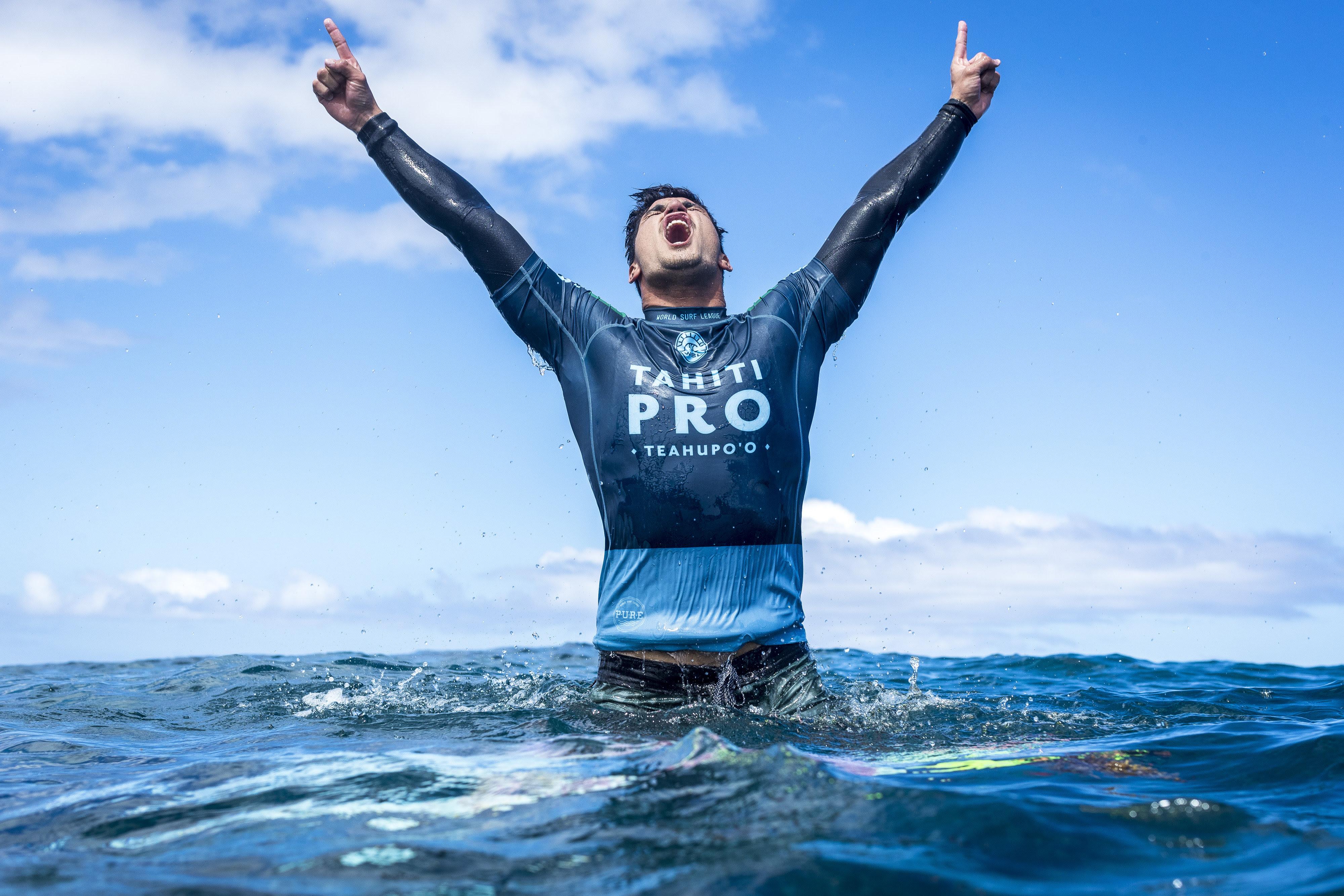 Brazil's Gabriel Medina Claims Victory at Tahiti Pro Teahupo'o