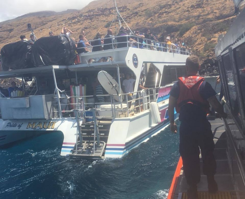 Coast Guard Rescues Surfer, Mariner Medevaced on Maui