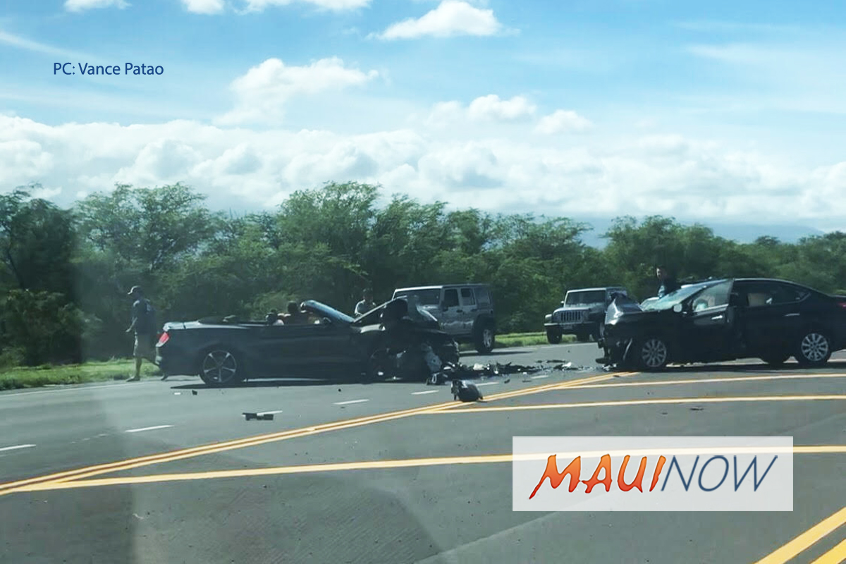 TRAFFIC ADVISORY: Maui Veteran's Highway in Kīhei