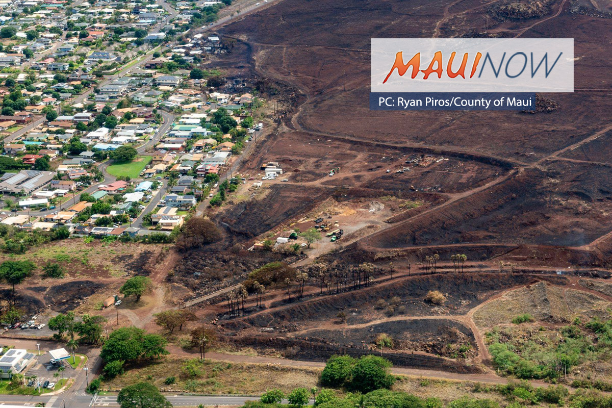 Community Meeting on Tropical Storm Lane and W Maui Fires