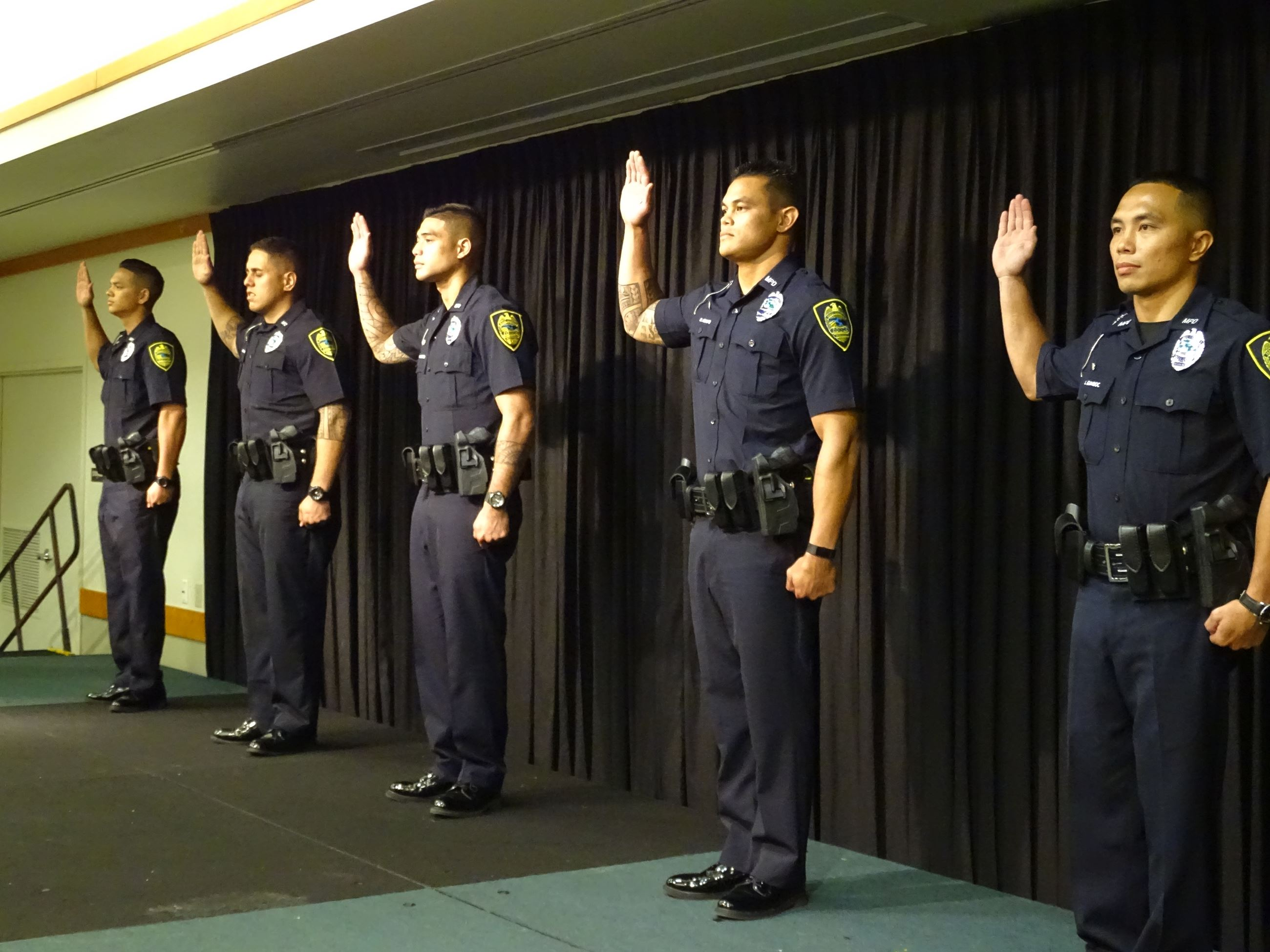 5 Graduate with Maui Police Department 87th Recruit Class