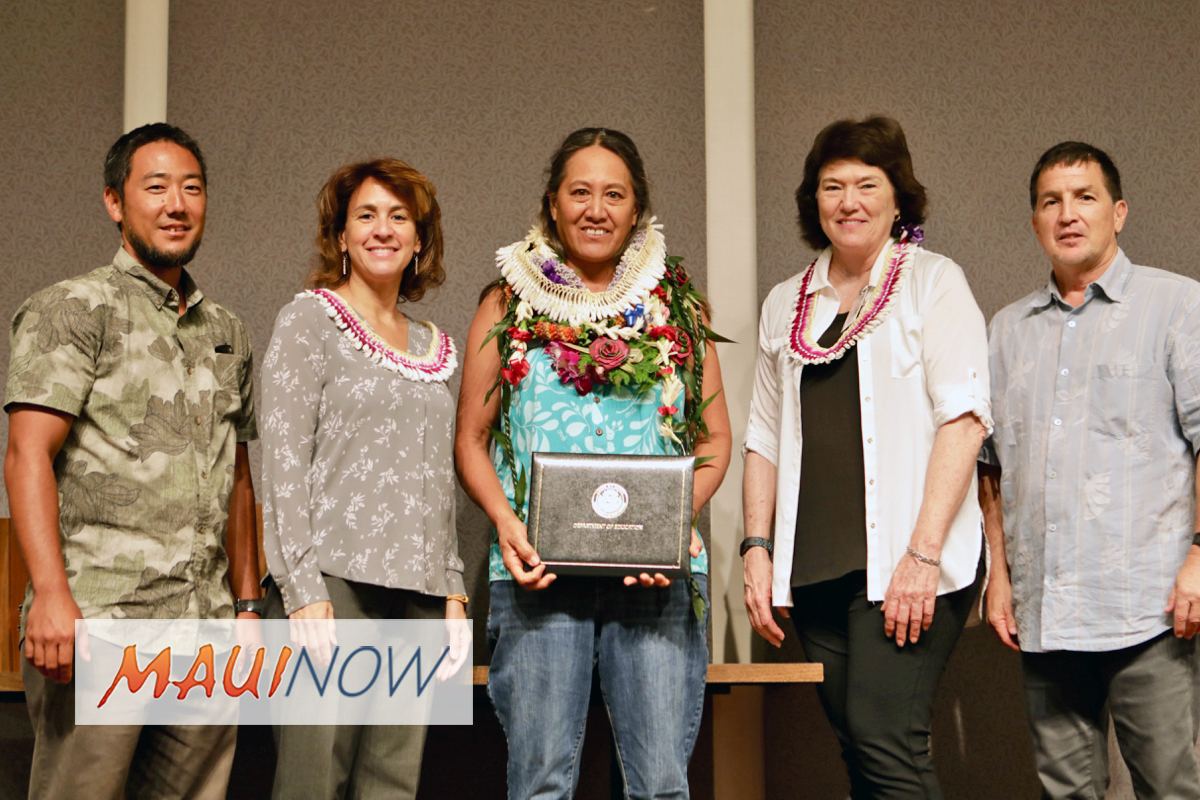 Maui Custodian Named 2018 HIDOE Employee of the Year