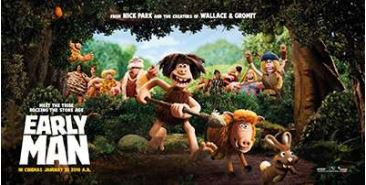 Free Showing of 'Early Man' at MACC, Sept. 28