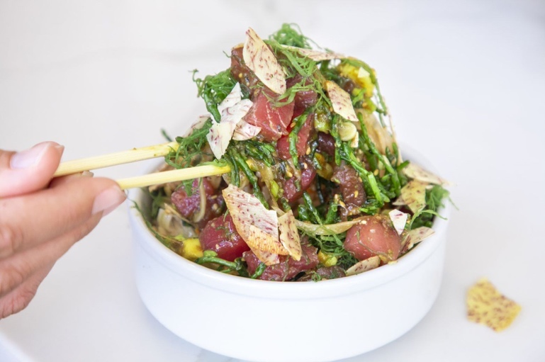 Merriman's Bowl Debuts at Sweetfin Poke in CA