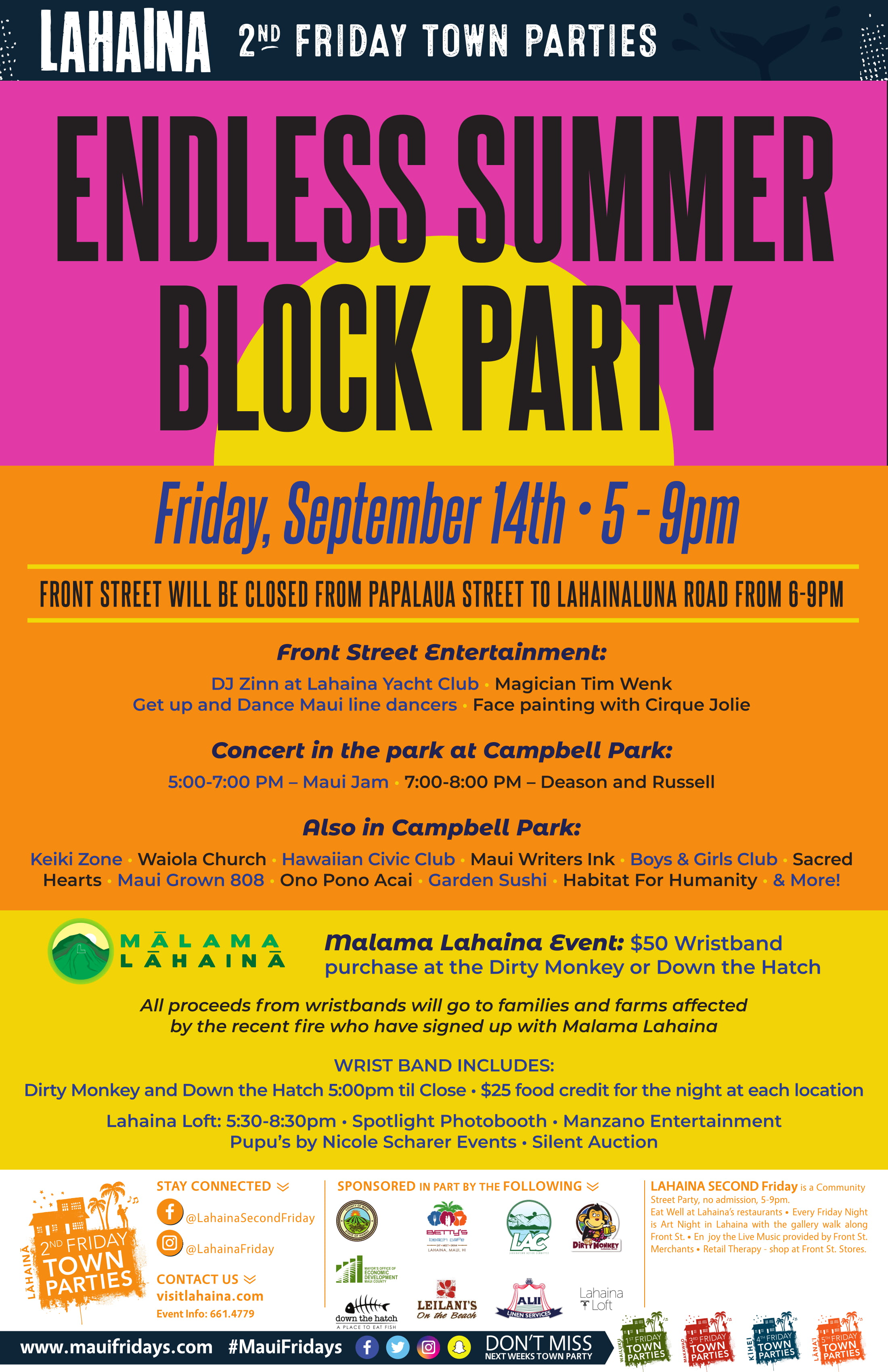 Lahaina 2nd Friday Offers Five Blocks of Fun