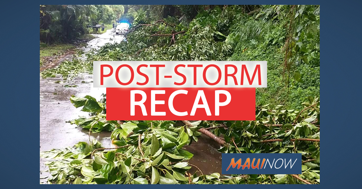 Post Storm Recap: Maui County Resumes Services