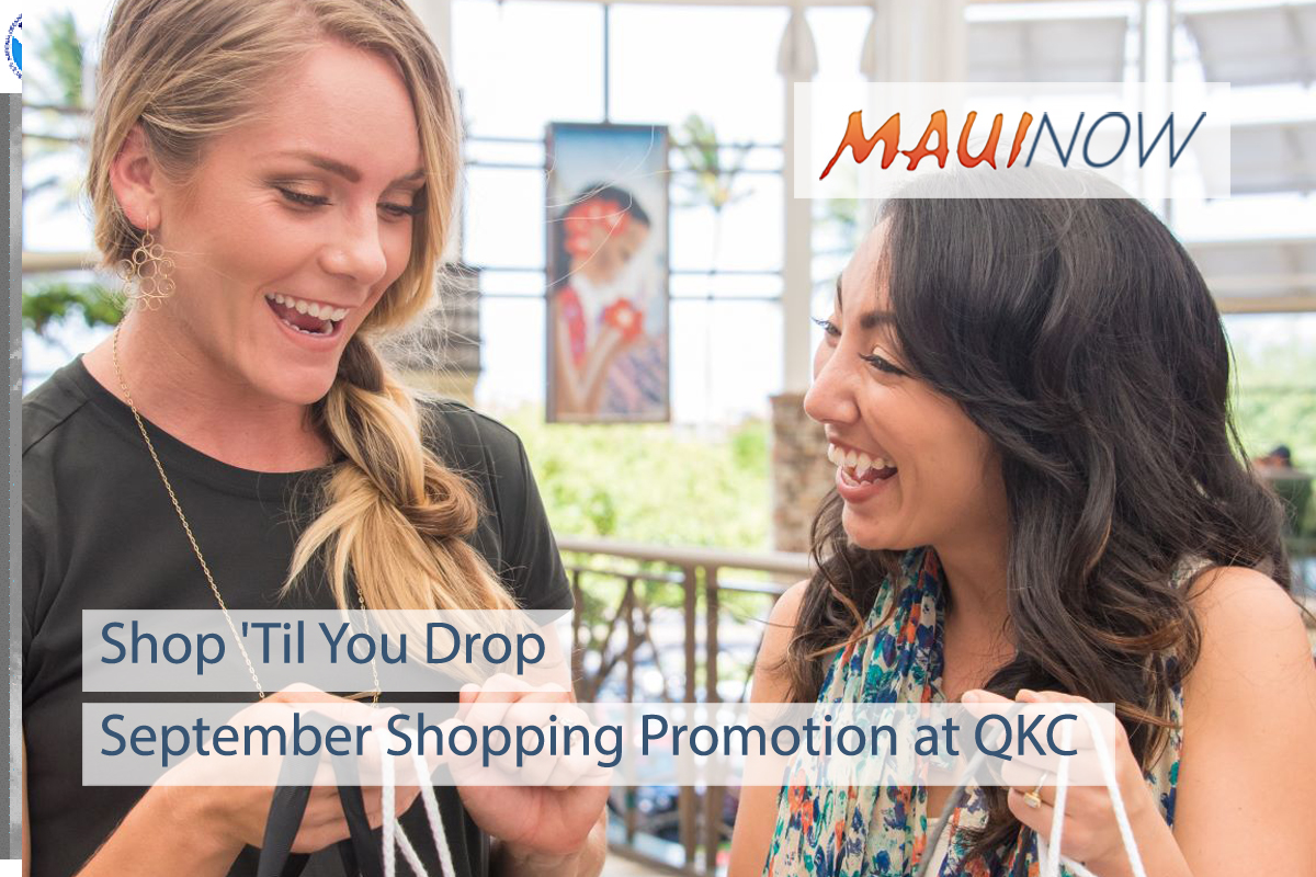September Shopping Promotion at QKC