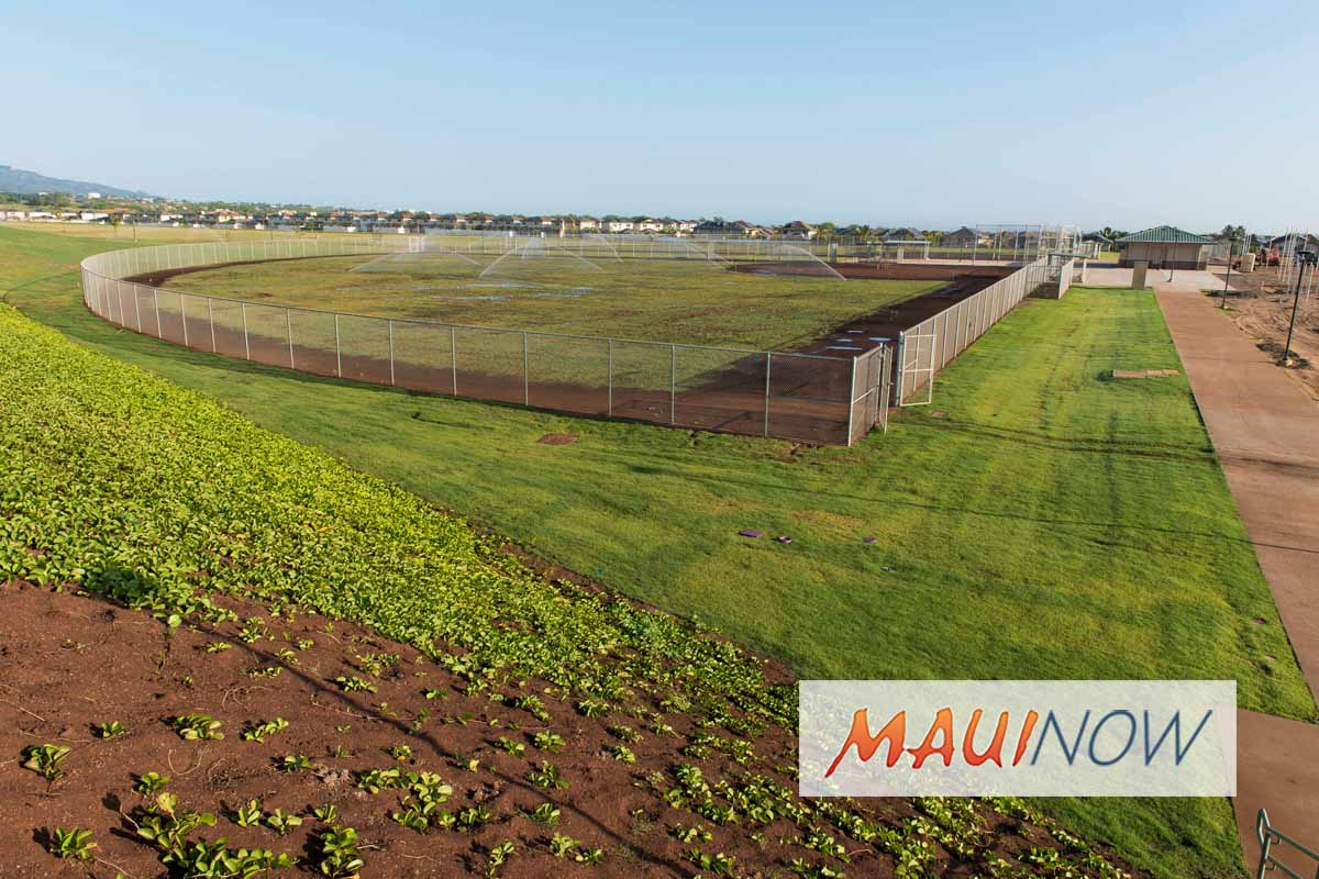 Maui Facility Use Application Period, Oct. 1-12 for Winter Season