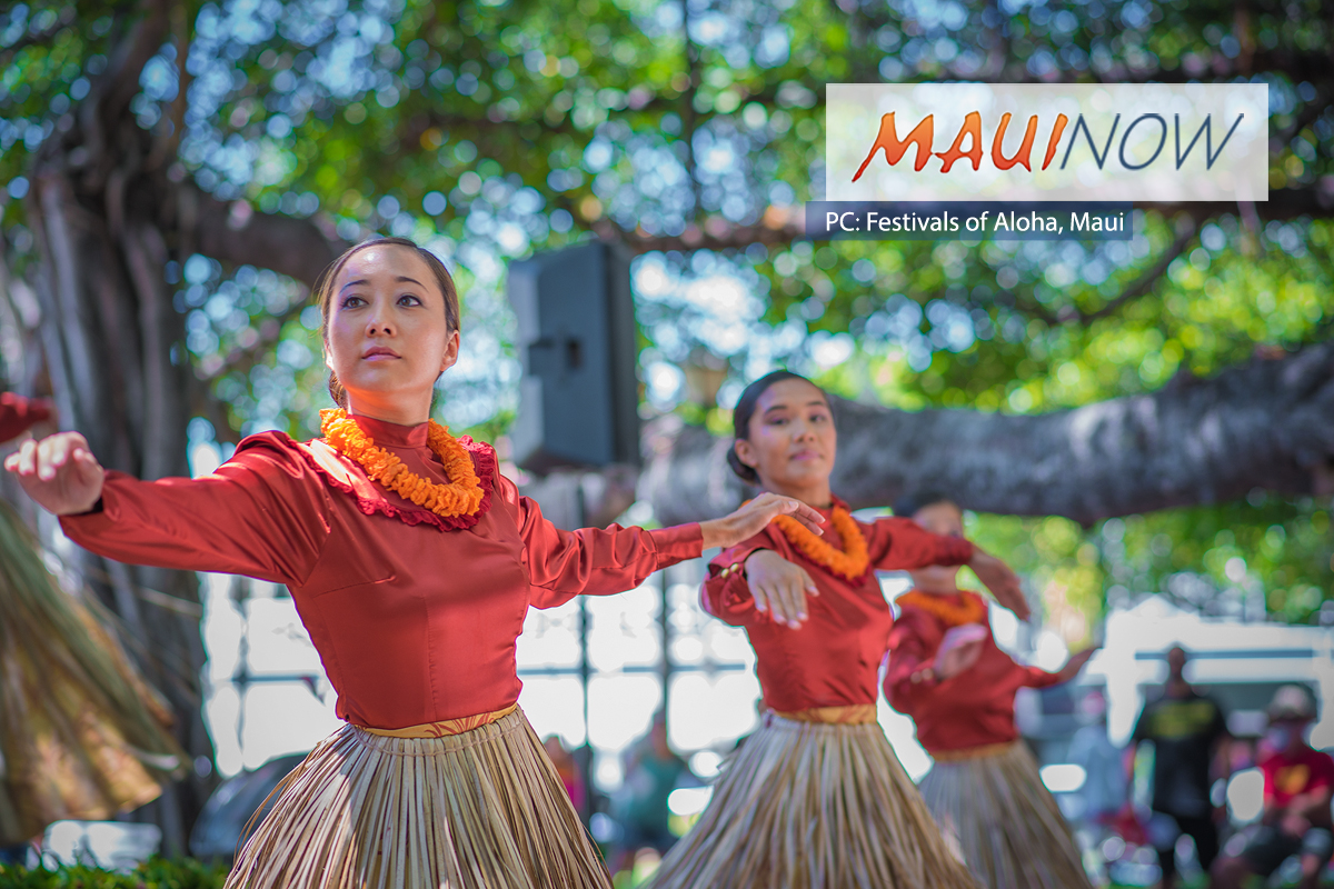2018 Festivals of Aloha Schedule of Events