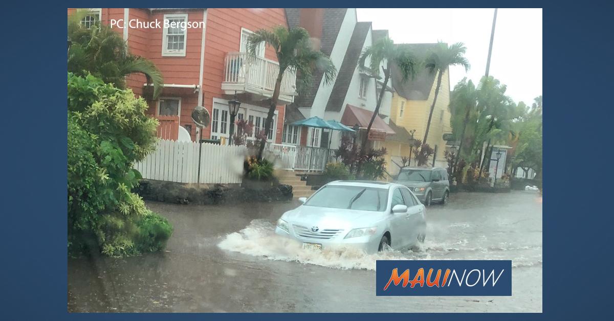 Flood WARNING for Maui Until 7:45 p.m.