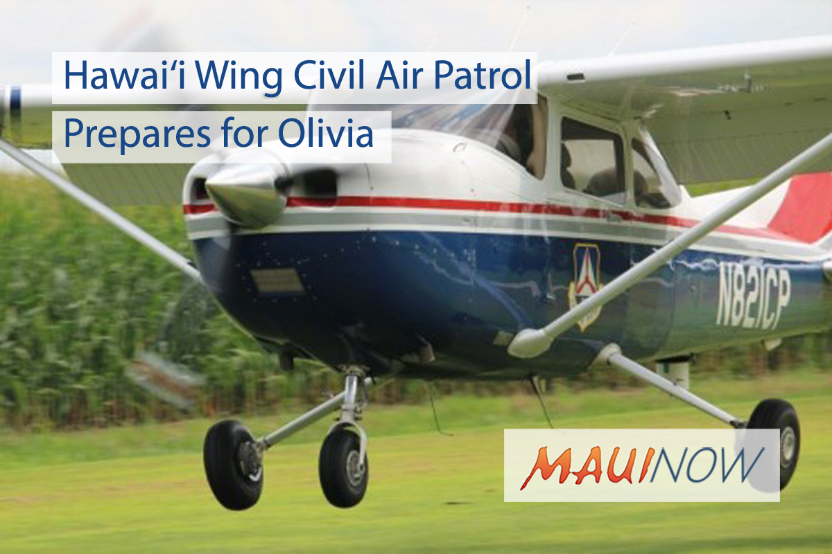Hawai'i Wing Civil Air Patrol Prepares for Olivia