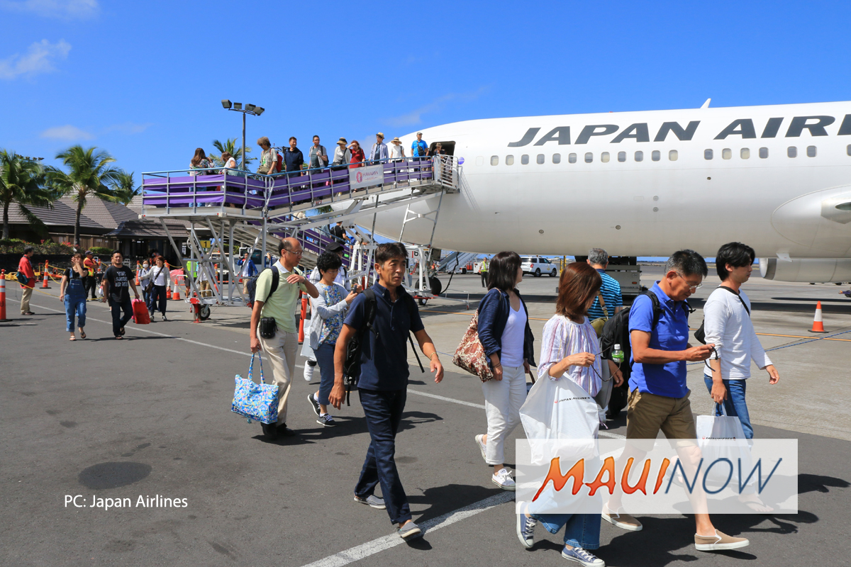 JAL Celebrates 1st Year of Non-Stop Flights Between Tokyo and Kona
