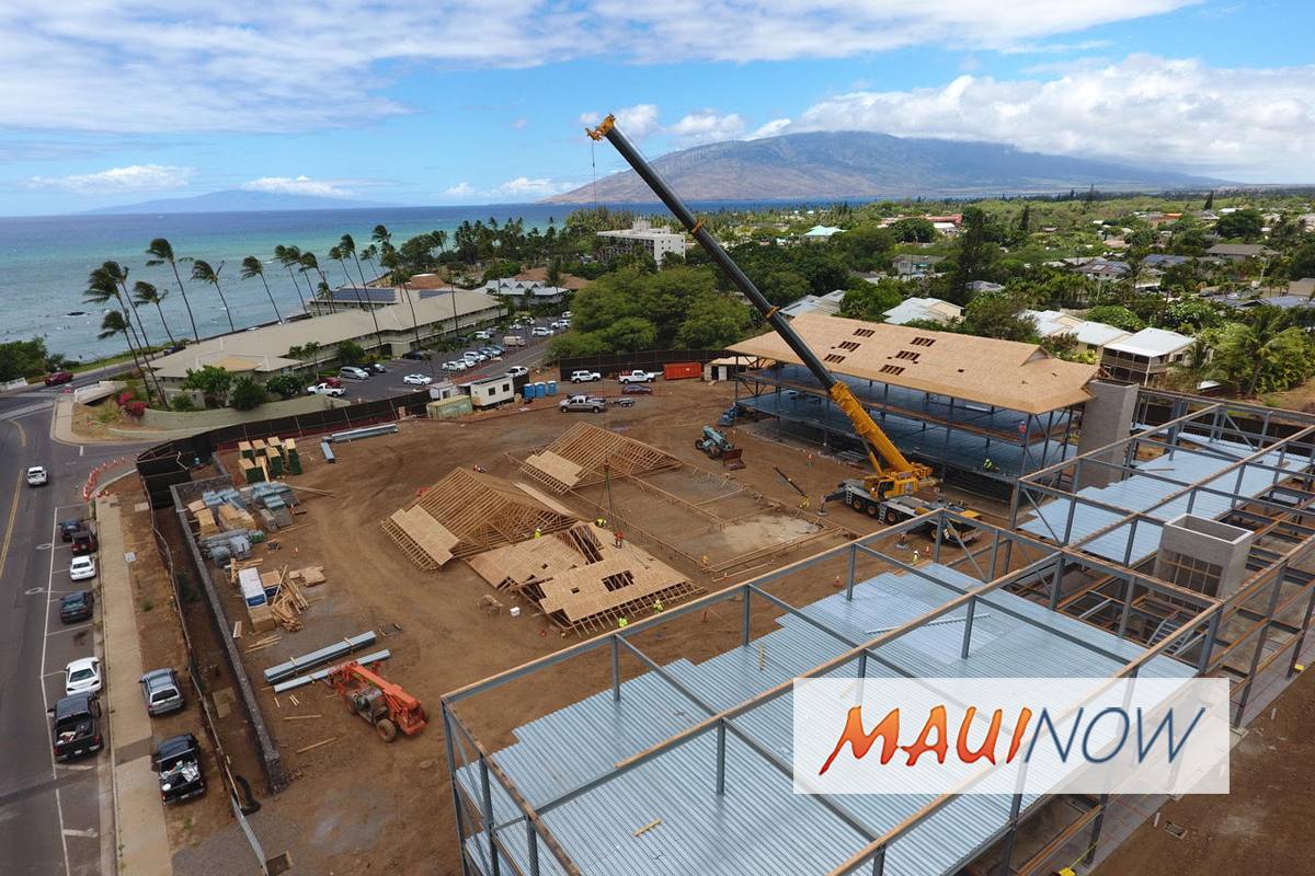 New Residential Workforce Condos Under Construction in Kīhei, Maui