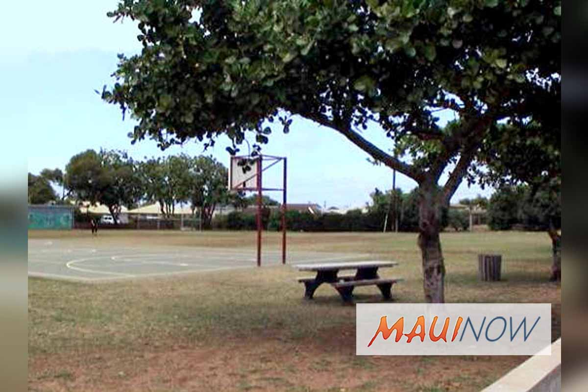 Construction on Central Maui Basketball Courts to Start Oct. 8