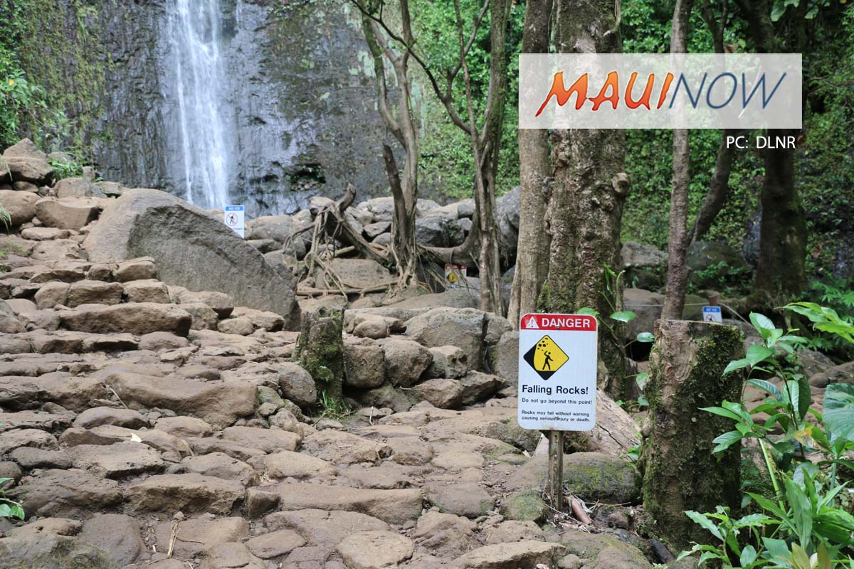 Four Men Cited for Entering Closed Mānoa Falls Trail