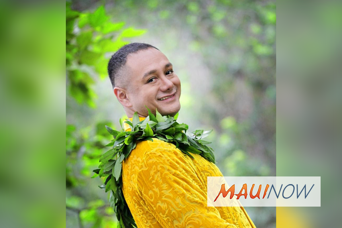 Award Winning Artist Kamaka Kukona to Perform at Shops at Wailea