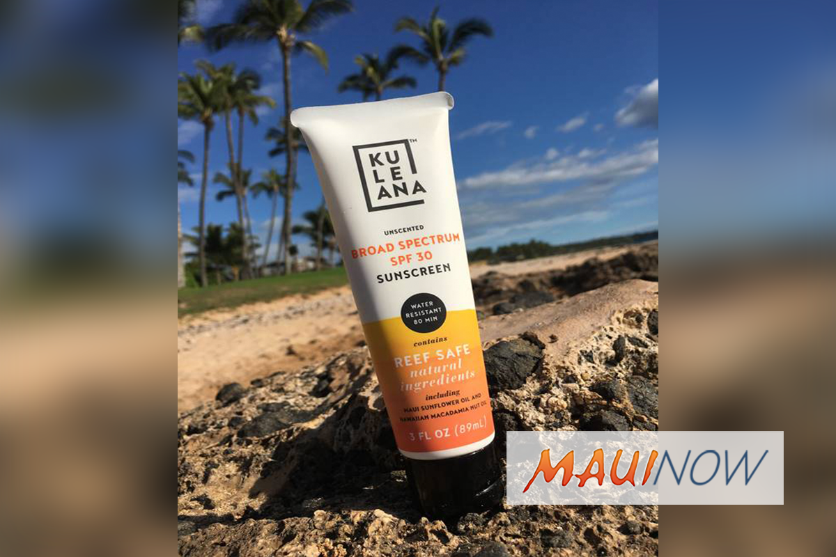 Kuleana Skincare Line Launches Reef-Safe Sunscreen