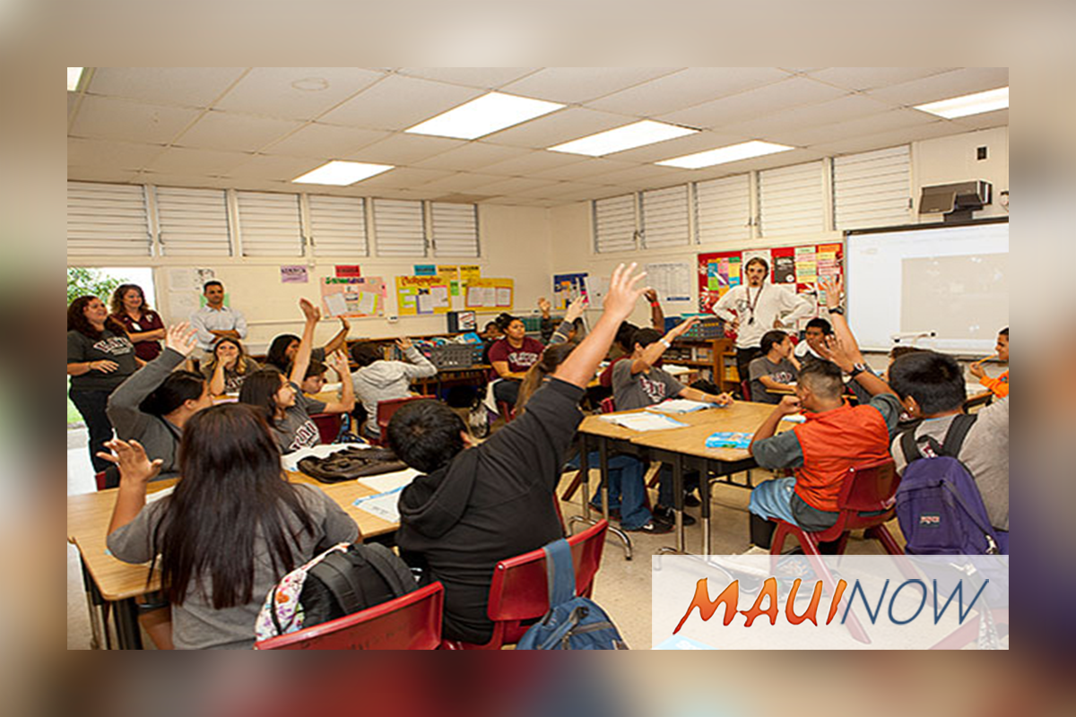 DOE Test Results Show Rise in Hawaiʻi Studentsʻ English Scores