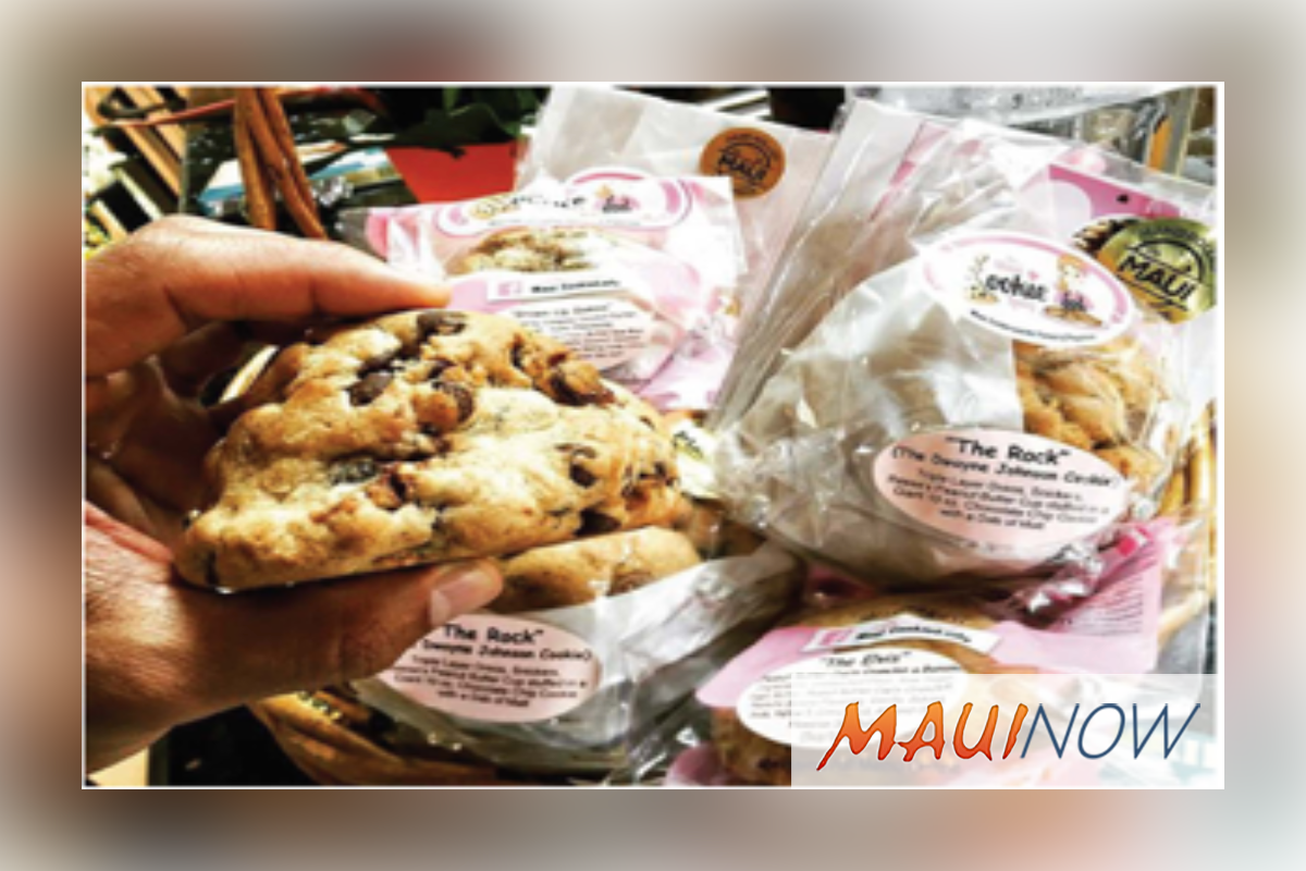Maui Cookie Lady Makes National Television News