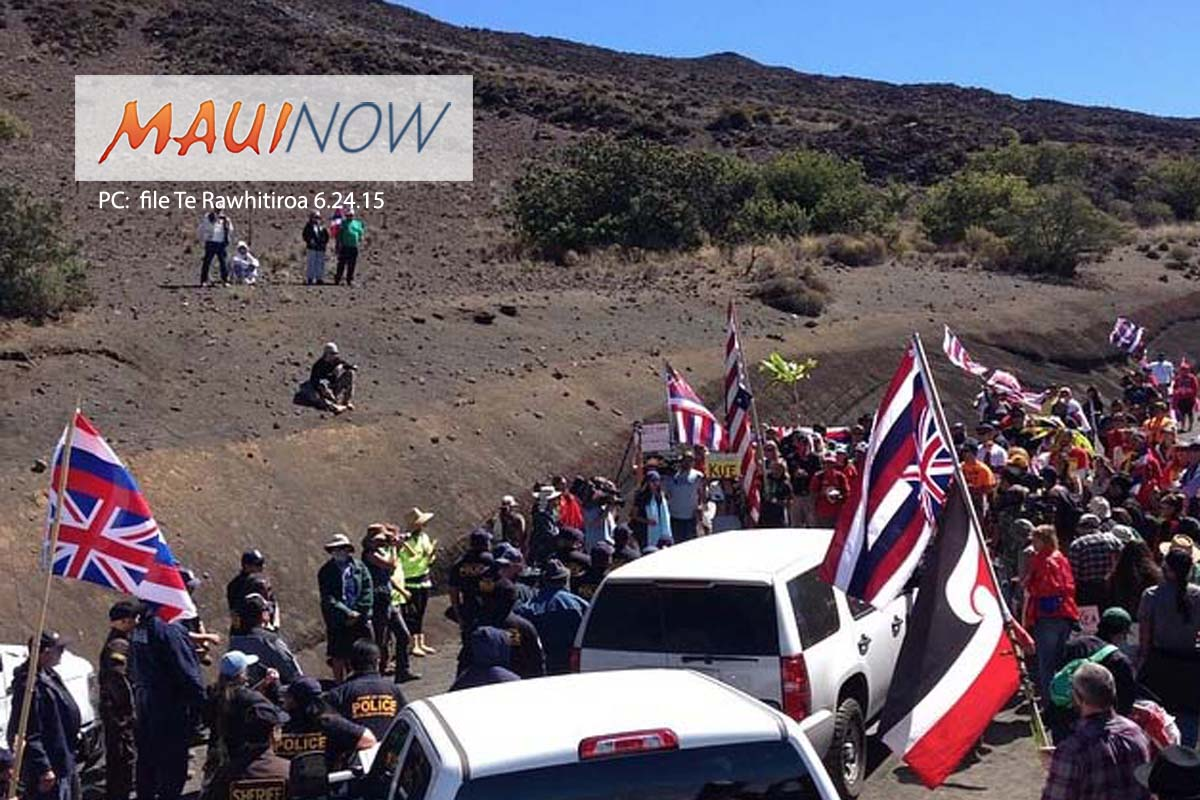 Public Comment Sought on Maunakea Administrative Rules