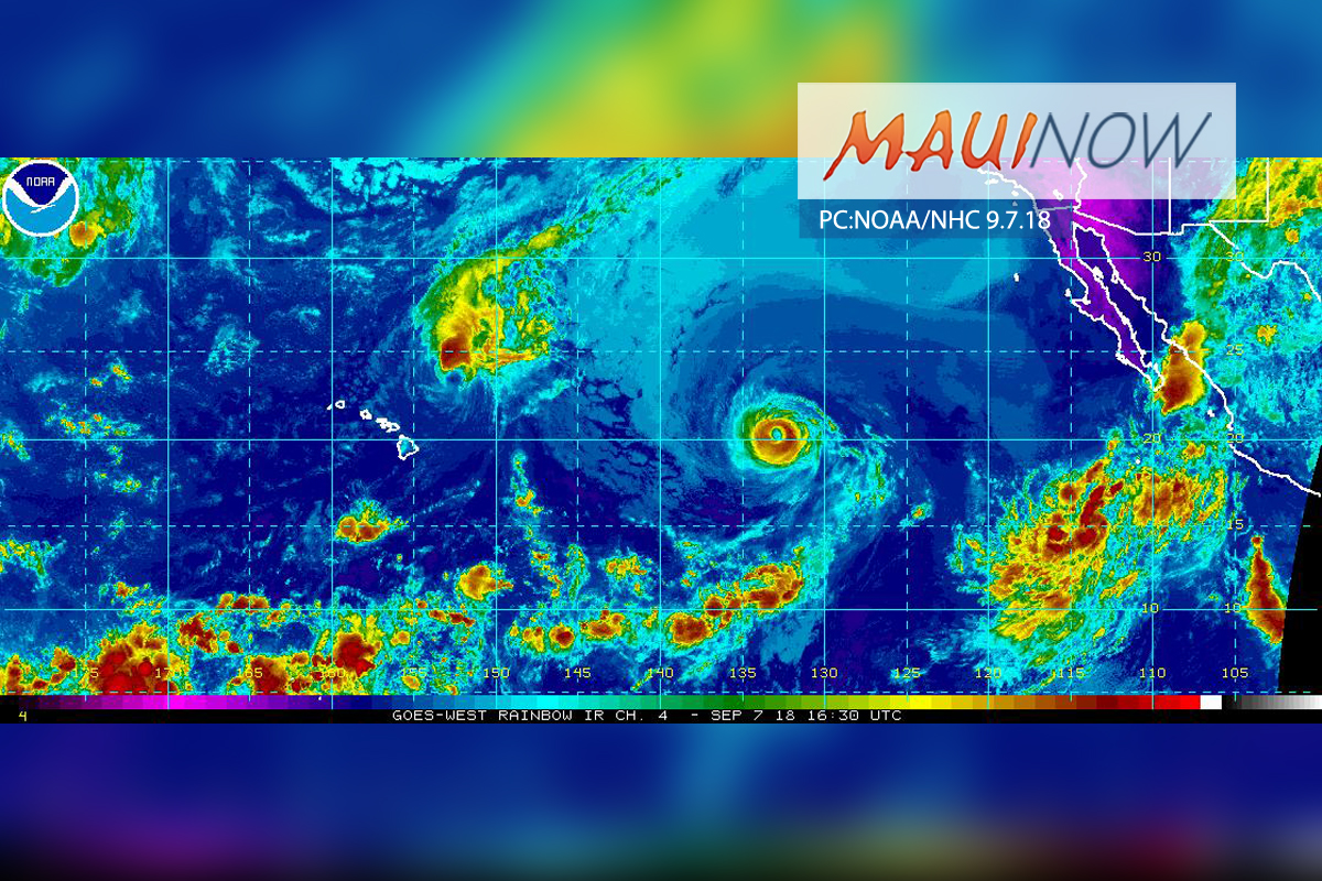 Olivia to Cross into Central Pacific Basin Late Saturday