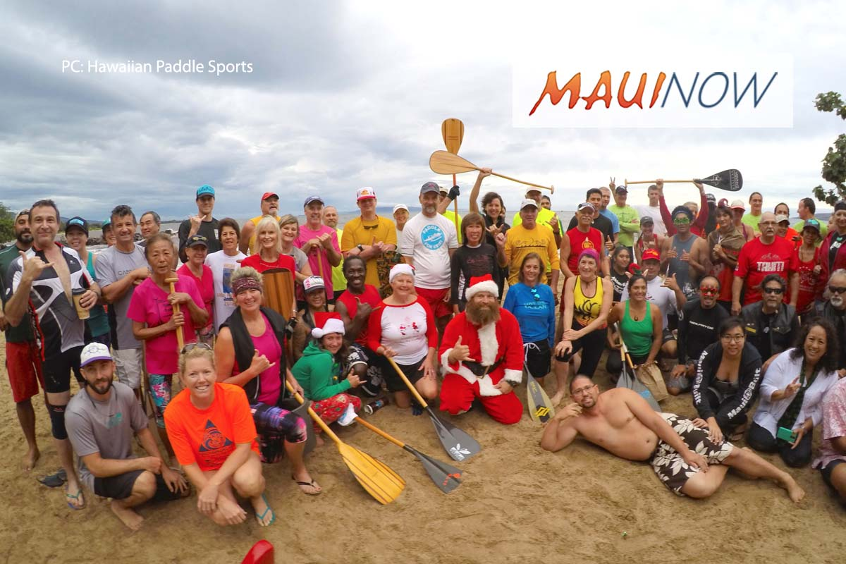 3rd Annual Paddle For Keiki, Dec. 16