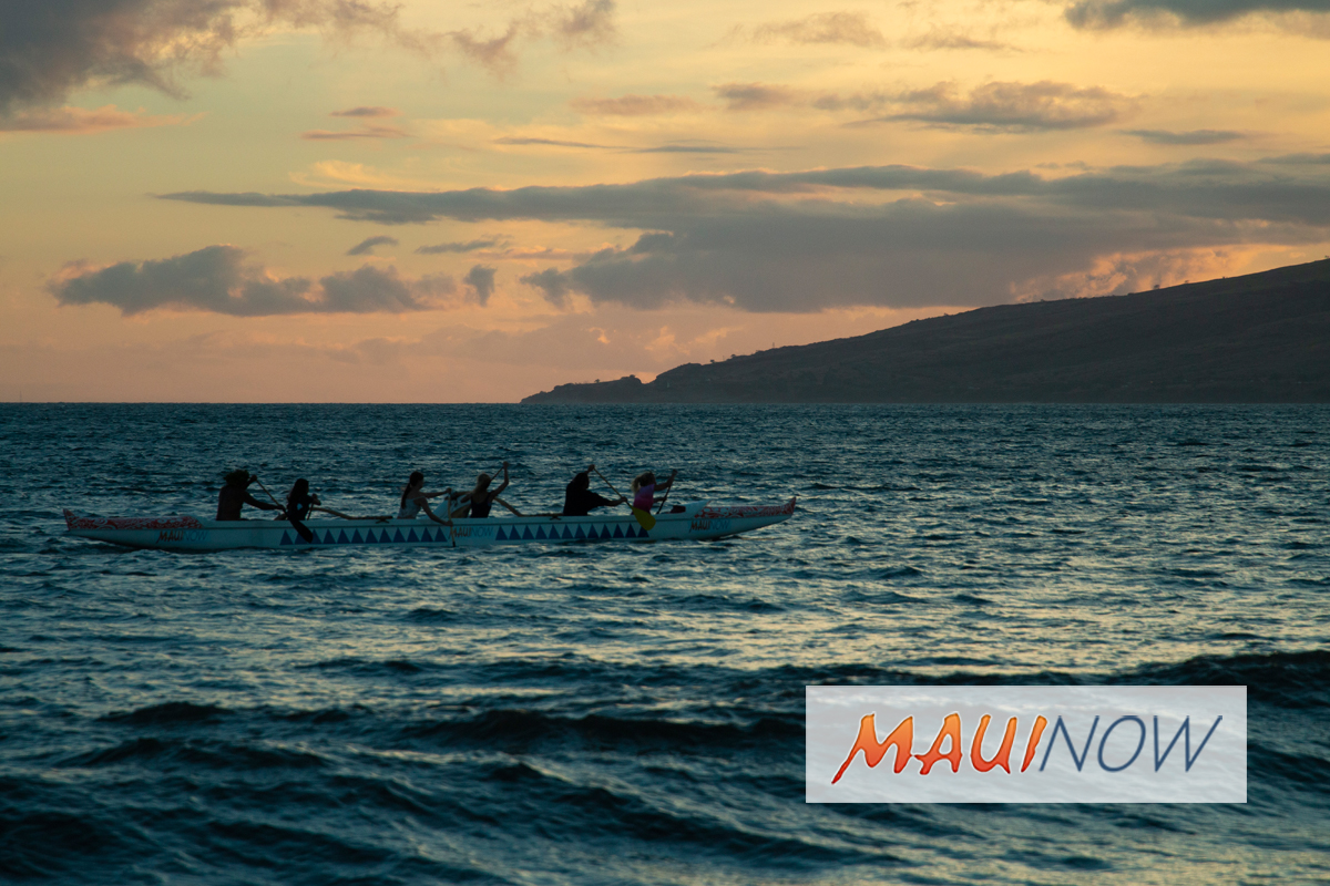 10th Anniversary Paddle for Life, Voyage to Lāna'i