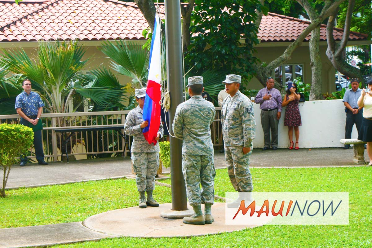 Philippine Flag Raising Ceremony to Kick Off Filipino-American History Month