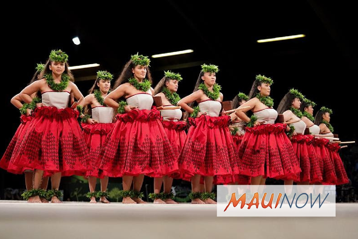 Mōhala Maui 2018 Features Merrie Monarch Hula Champions and More