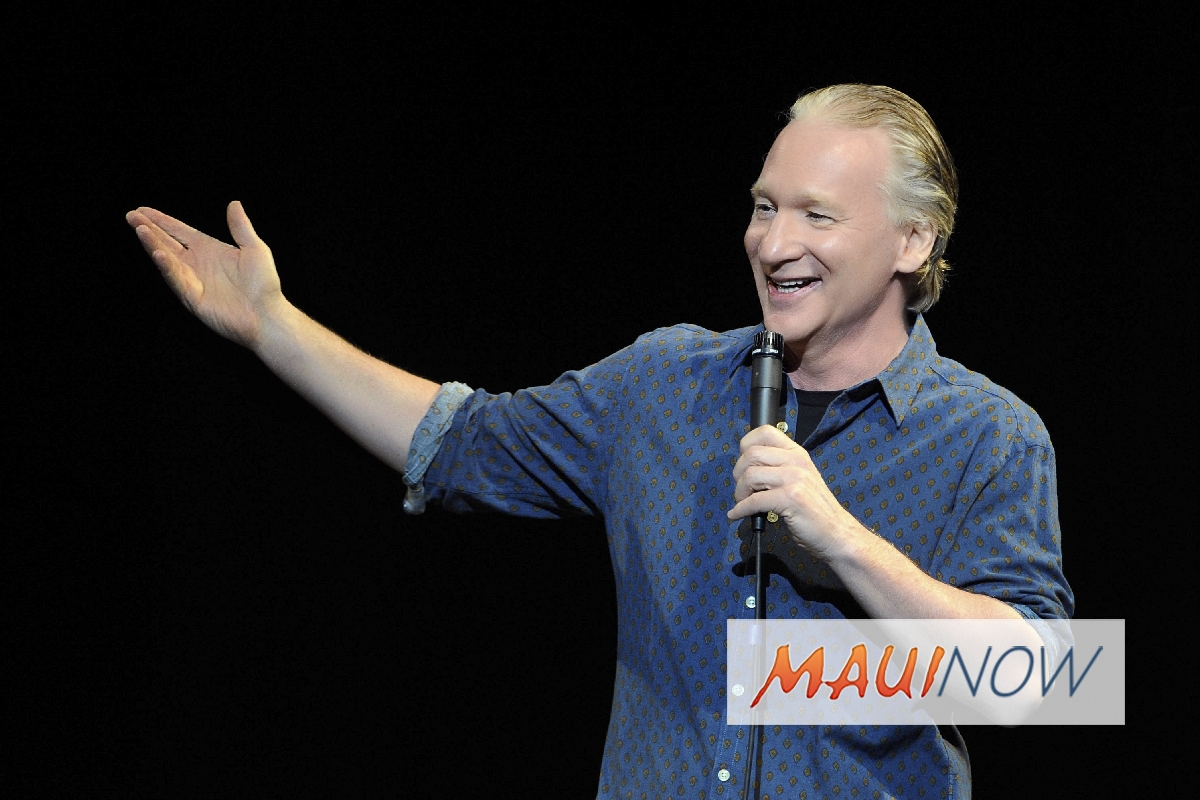 Bill Maher Returns to the MACC for New Years